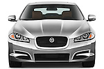 Straight front view of a 2012 Jaguar XF Portfolio