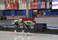 SPEEDSKATING: CALGARY: 05-02-2020, ISU World Cup Speed Skating, training, ©photo Martin de Jong