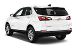 Car pictures of rear three quarter view of a 2020 Chevrolet Equinox LT 5 Door SUV angular rear