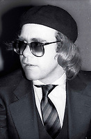 1978 FILE PHOTO<br /> New York City<br /> Elton John at Studio 54<br /> Photo by Adam Scull-PHOTOlink.net