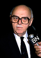 Undated File Photo - Jean Drapeau, Mayor, Montreal<br /> <br />  Drapeau was a Canadian lawyer and politician who served as mayor of Montreal from 1954 to 1957 and 1960 to 1986. During his tenure as mayor he was responsible for the construction of the Montreal Metro system and the Place des Arts concert hall, for conceiving Expo 67, for securing the 1976 Summer Olympics, and for helping to bring Major League Baseball to Montreal with the creation of the Montreal Expos.<br /> <br /> Although he is remembered as a visionary, Drapeau's mishandling of the construction of the Olympic Games facilities resulted in massive cost overruns and left the city with a debt of over $1 billion that has taken its citizens over thirty years to fully pay off.