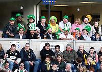 Photo: Richard Lane/Richard Lane Photography. London Wasps v London Irish. 02/03/2012. Rugby Supporters.