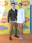 Nick Jonas, Olivia Culpo<br /> <br /> <br /> <br /> <br /> <br /> <br />  attends 2015 Nickelodeon Kids' Choice Awards  held at The Forum in Inglewood, California on March 28,2015                                                                               © 2015 Hollywood Press Agency