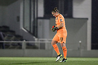 Goalkeeper Justien Odeurs (13) of Anderlecht pictured during a female soccer game between Oud Heverlee Leuven and RSC Anderlecht on the 12 th matchday of the 2020 - 2021 season of Belgian Womens Super League , sunday 31 st of January 2021  in Heverlee , Belgium . PHOTO SPORTPIX.BE | SPP | SEVIL OKTEM