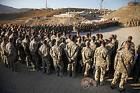 "Afghanistan, 10.2012. OP North, ""Beobachtungsposten Nord"" der Bundeswehr in der Unruheprovinz Baglan.   German Army Observation Point North in the less peaceful Baghlan province. © Timo Vogt/EST&OST"