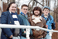 Barking fans are seen at Leyton-Wingate Football Club - circa 1989 - MANDATORY CREDIT: Gavin Ellis/TGSPHOTO - Self billing applies where appropriate - Tel: 0845 094 6026
