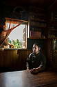 India - Sikkim - Portrait of Tenzing Lepcha, a 39-year-old farmer and environmental activist.