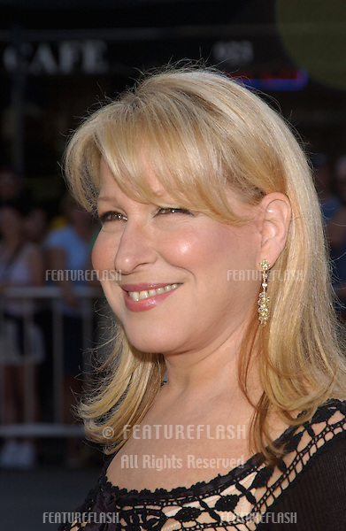 Actress/singer BETTE MIDLER at the world premiere, in Los Angeles, of her new movie The Stepford Wives..June 6, 2004