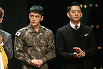 Jae-Joong and Yu-Chun (JYJ), Oct 29, 2015 : K-Pop boys group JYJ attend the 2015 Korean Popular Culture & Arts Awards held at National Theater in Seoul, South Korea on October 29, 2015. (Photo by Pasya/AFLO)
