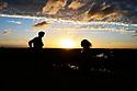 Last sunset of the year 2020, Broward County, Florida