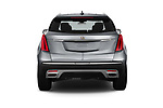 Straight rear view of 2022 Cadillac XT5 Premium-Luxury-2.0L-FWD 5 Door suv Rear View  stock images