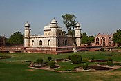 The tomb of Itmad -Ud-Daulah - often regarded as the 'jewel box' and popularly called the Baby Taj is seen here in Agra, Uttar Pradesh in India. Photo: Sanjit Das