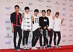 HALO, Jun 07, 2014 : K-pop boy band HALO pose before the Dream Concert in Seoul, South Korea. (Photo by Lee Jae-Won/AFLO) (SOUTH KOREA)