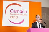 Councillor Phil Jones, Camden Business Awards 2013.