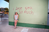 """The """"i love you so much"""" mural is an Austin favorite."""