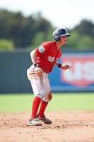 Boston Red Sox Samuel Miranda (32) during an Instructional League game against the Minnesota Twins on September 24, 2016 at CenturyLink Sports Complex in Fort Myers, Florida.  (Mike Janes/Four Seam Images)