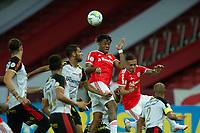 10th February 2021; Beira-Rio Stadium, Porto Alegre, Brazil; Brazilian Serie A, Internacional versus Sport Recife; Abel Hernández of Internacional wins the header from a cross