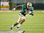 Baylor Bears wide receiver Lanear Sampson (3) in action during the game between the Iowa State Cyclones and the Baylor Bears at the Floyd Casey Stadium in Waco, Texas. Baylor defeats Iowa State 49 to 26.