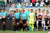 Philadelphia, PA. -June 11, 2016: Officials    during Copa America Centenario Group A match between United States (USA) and Paraguay (PAR) at Lincoln Financial Field.