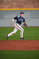 Danny Serretti (10) of Governor Livingston High School in Berkeley Heights, New Jersey during the Under Armour All-American Pre-Season Tournament presented by Baseball Factory on January 14, 2017 at Sloan Park in Mesa, Arizona.  (Mike Janes/MJP/Four Seam Images)