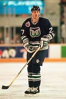Brian Marchment Hartford Whalers 1993. Photo F. Scott Grant