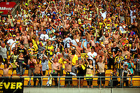 110213 A-League Football - Wellington Phoenix v North Qld Fury