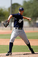 Kristian Bueno - Milwaukee Brewers 2009 Instructional League.Photo by:  Bill Mitchell/Four Seam Images..