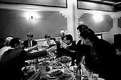Moscow, Russia<br /> 1996<br /> <br /> Vladimir Brynstalov is proud of the millions he has earned in running the largest pharmaceutical company in the former Soviet Union. Here he has a dinner party in his compound that houses his factory, office and Moscow apartment.