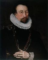 Visual Arts:  John Hawkins, Portrait.  National Maritime Museum, London.