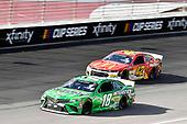 #18: Kyle Busch, Joe Gibbs Racing, Toyota Camry Interstate Batteries and #42: Matt Kenseth, Chip Ganassi Racing, Chevrolet Camaro McDelivery