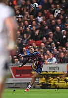 1st October 2021;  Ashton Gate Stadium, Bristol, South Gloucestershire, England; Gallagher Premier League rugby, Bristol Bears versus Bath Rugby: Callum Sheedy of Bristol Bears kicks a penalty goal