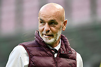 Stefano Pioli coach of AC Milan  looks on during the Serie A football match between FC Internazionale and AC Milan at stadio San Siro in Milano (Italy), October 17th, 2020. Photo Image Sport / Insidefoto