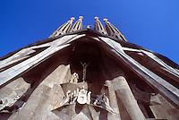 Barcellona, Spagna, Catalogna,  Gaudi, Antoni Gaudi, Sagrada Familia,