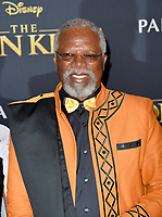 "LOS ANGELES, USA. July 10, 2019: John Kani at the world premiere of Disney's ""The Lion King"" at the Dolby Theatre.<br /> Picture: Paul Smith/Featureflash"