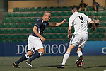 playonPROS (in blue) vs HKFC Chairman's Select (in white) during their Masters Tournament match, part of the HKFC Citi Soccer Sevens 2017 on 26 May 2017 at the Hong Kong Football Club, Hong Kong, China. Photo by Chris Wong / Power Sport Images