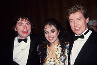 Andrew Lloyd Webber, Sarah Brightman Michael Crawford 1988 Photo by Adam Scull-PHOTOlink.net