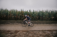 Gianni Vermeersch (BEL/Alpecin-Fenix)<br /> <br /> 118th Paris-Roubaix 2021 (1.UWT)<br /> One day race from Compiègne to Roubaix (FRA) (257.7km)<br /> <br /> ©kramon