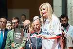 President of the community Cristina Cifuentes at Seat of Government in Madrid, May 22, 2017. Spain.<br /> (ALTERPHOTOS/BorjaB.Hojas)