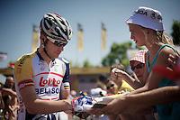 Jürgen Roelandts (BEL) at the start<br /> <br /> Tour de France 2013<br /> stage 16: Vaison-la-Romaine to Gap, 168km