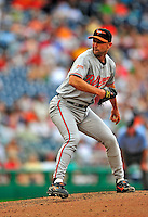 24 May 2009: Baltimore Orioles' relief pitcher Jamie Walker on the mound during a game against the Washington Nationals at Nationals Park in Washington, DC. The Nationals rallied to defeat the Orioles 8-5 and salvage a win in their interleague series. Mandatory Credit: Ed Wolfstein Photo
