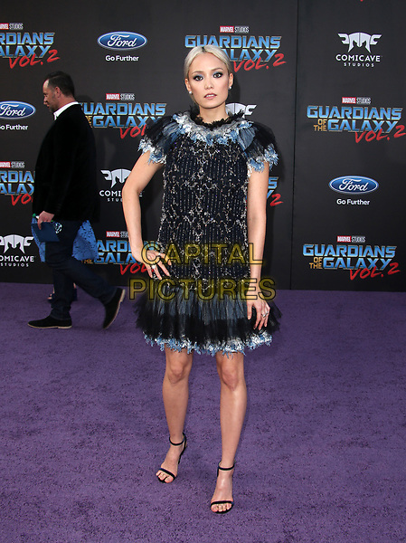 """HOLLYWOOD, CA - April 19: Pom Klementieff, At Premiere Of Disney And Marvel's """"Guardians Of The Galaxy Vol. 2"""" At The Dolby Theatre  In California on April 19, 2017. <br /> CAP/MPI/FS<br /> ©FS/MPI/Capital Pictures"""