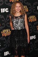 """LOS ANGELES, CA - JANUARY 07: Isabella Acres arriving at the Los Angeles Screening Of IFC's """"The Spoils Of Babylon"""" held at the Directors Guild Of America on January 7, 2014 in Los Angeles, California. (Photo by Xavier Collin/Celebrity Monitor)"""