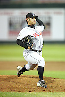 August 11, 2009: Tzu-Kai Chiu of the Billings Mustangs.The Mustangs are the Pioneer League affiliate for the Cincinnati Reds. Photo by: Chris Proctor/Four Seam Images