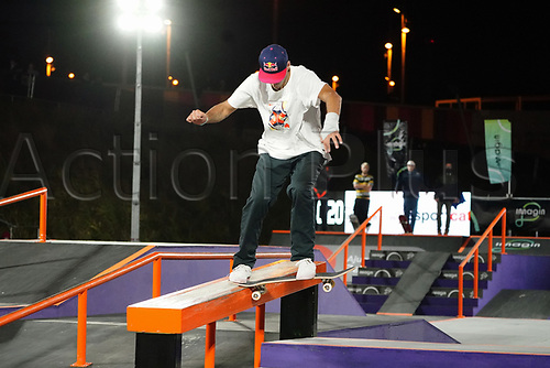 6th November 2020; Parc del Forum, Barcelona, Catalonia, Spain; Imagin Extreme Barcelona; picture show Matias Dell Olio (ARG) during the mens street final