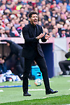 Diego Pablo Simeone coach of Atletico de Madrid during La Liga match between Atletico de Madrid and CD Leganes at Wanda Metropolitano Stadium in Madrid, Spain. January 26, 2020. (ALTERPHOTOS/A. Perez Meca)
