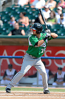 Dayton Dragons outfielder Beau Amaral (25) during a game against the Lansing Lugnuts on August 25, 2013 at Cooley Law School Stadium in Lansing, Michigan.  Dayton defeated Lansing 5-4 in 11 innings.  (Mike Janes/Four Seam Images)