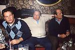 RENATO POZZETTO CON PAOLO VILLAGGIO E RENATO SALVATORI - NOTORIUS CLUB ROMA 1986
