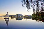 Seattle; Lake Washington; Mount Baker Sailing and Rowing Center, Mount Baker neighborhood, Lake Washington Boulevard, Olmstead legacy; Seattle Parks Department; sunrise,