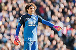 Goalkeeper Francisco Guillermo Ochoa Magana of Granada CF in action during their La Liga match between Real Madrid and Granada CF at the Santiago Bernabeu Stadium on 07 January 2017 in Madrid, Spain. Photo by Diego Gonzalez Souto / Power Sport Images