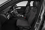 Front seat view of a 2020 Audi A4 S-Line 5 Door Wagon front seat car photos